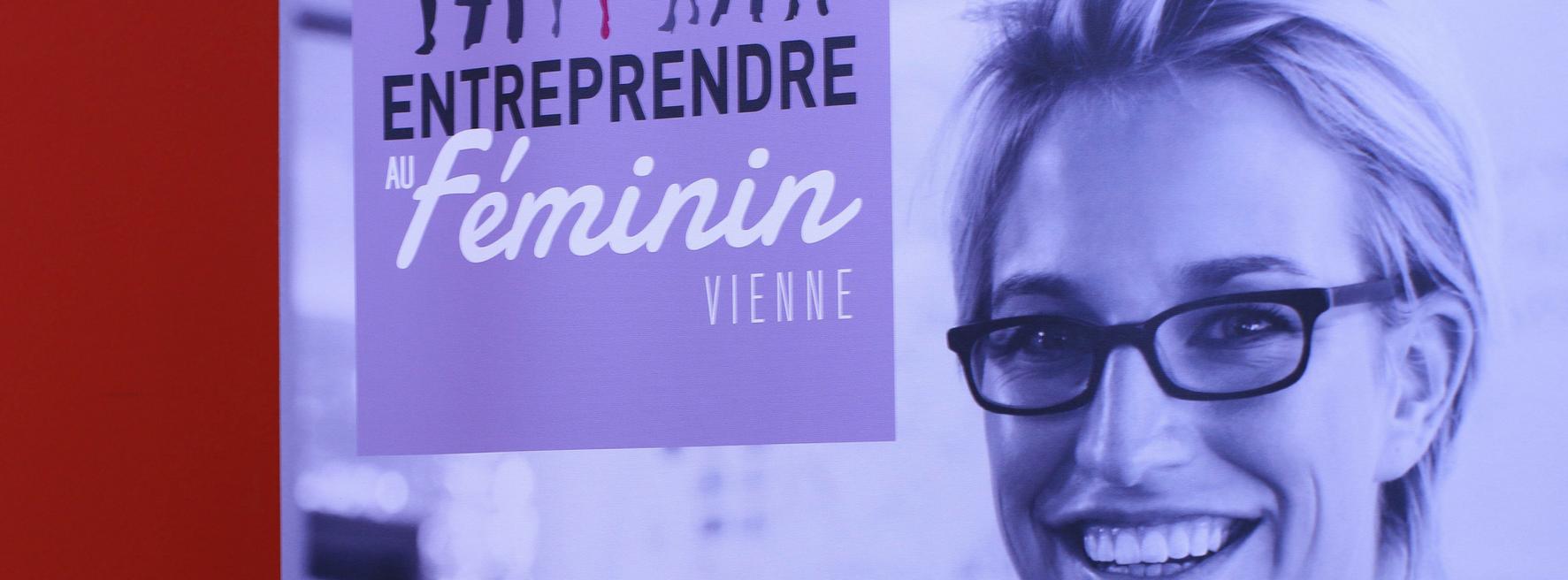 Stand d'Entreprendre au féminin Vienne 2018 à la journée des associations 2018 de Poitiers
